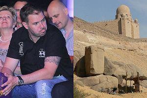 Tomasz Karolak wyjeżdża do Egiptu. Będzie zbierać energię oraz... szukać grobu Marii Magdaleny.