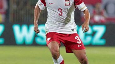 Grzegorz Wojtkowiak w meczu reprezentacji Polski i Kamerunu