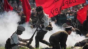 Ossów - rekonstrukcja bitwy warszawskiej. Obchody rocznicy cudu nad Wisłą, 14 sierpnia 2010