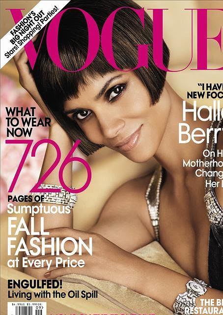 Halle Berry, fot. Mario Testino, Vogue US, wrzesień 2010