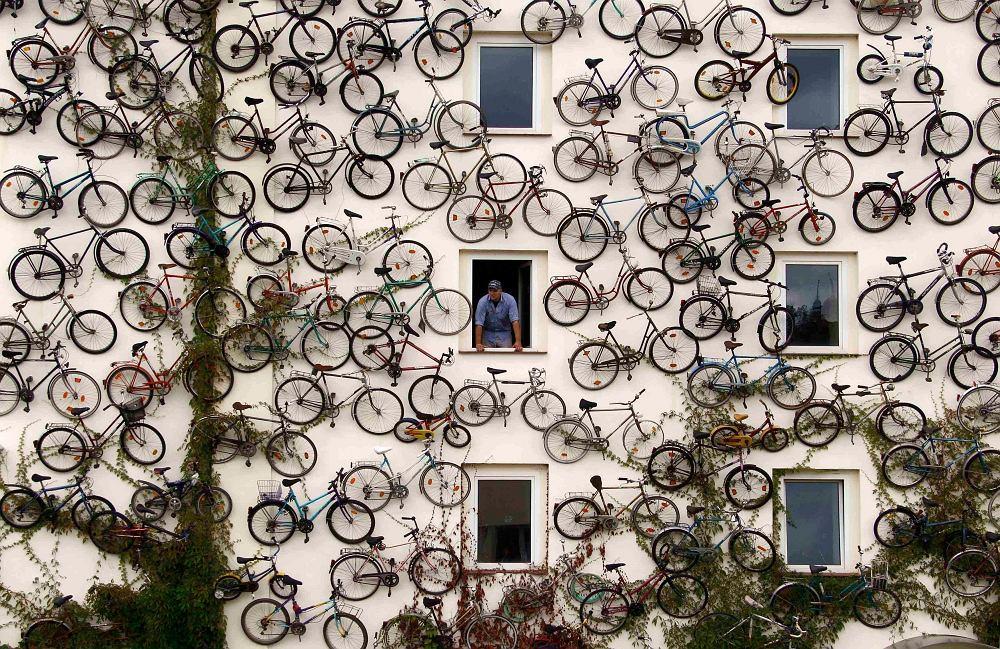 Sklep i warsztat rowerowy w Altlandsbergu (Niemcy)