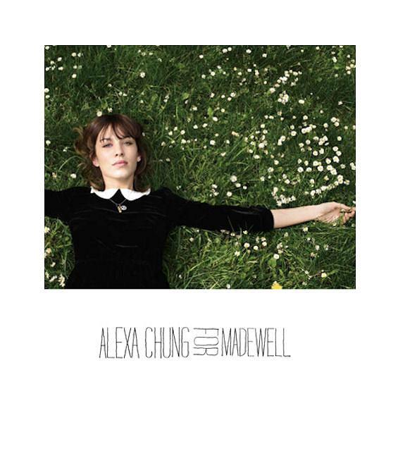 Alexa Chung dla Madewell jesień/ zima 2010