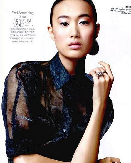 Shu Pei - nowa twarz Maybelline