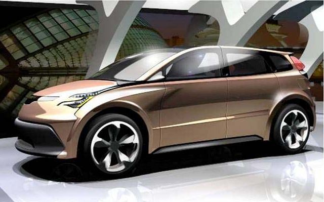 Koncept Toyota Venza 2020 stworzony przez Lotus Engineering
