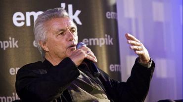 John Irving podczas spotkania w Empiku przy Marszałkowskiej w Warszawie