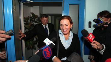 Marek Suski i Elżbieta Jakubiak