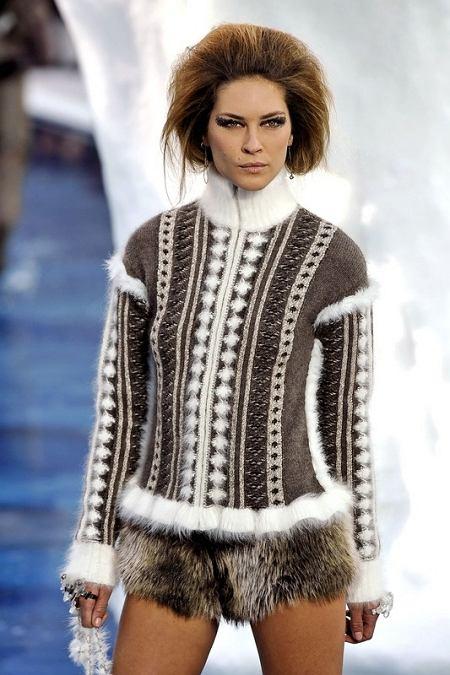 Projekt: Chanel (jesień/ zima 2010/2011)