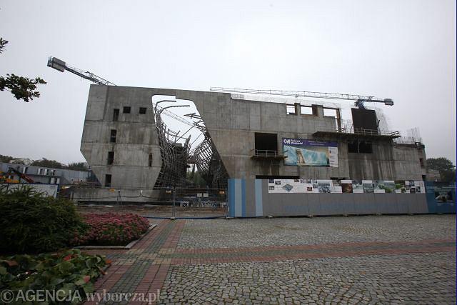 Budowa Muzeum Historii Żydów Polskich w Warszawie