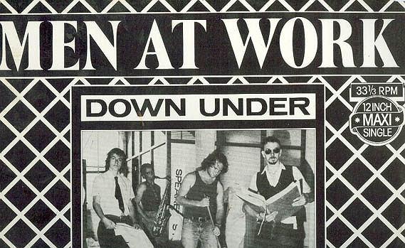 Man at Work - Down Under