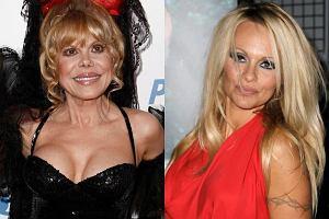 Pamela Anderson ma jeszcze czas, żeby za kilkanaście lat nie wyglądać jak Charo. Charo jest amerykańską aktorką pochodzenia hiszpańskiego. Chcąc zachować młodość i jędrność zainwestowała w operacje plastyczne.