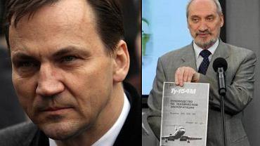 Radosław Sikorski i Antoni Macierewicz
