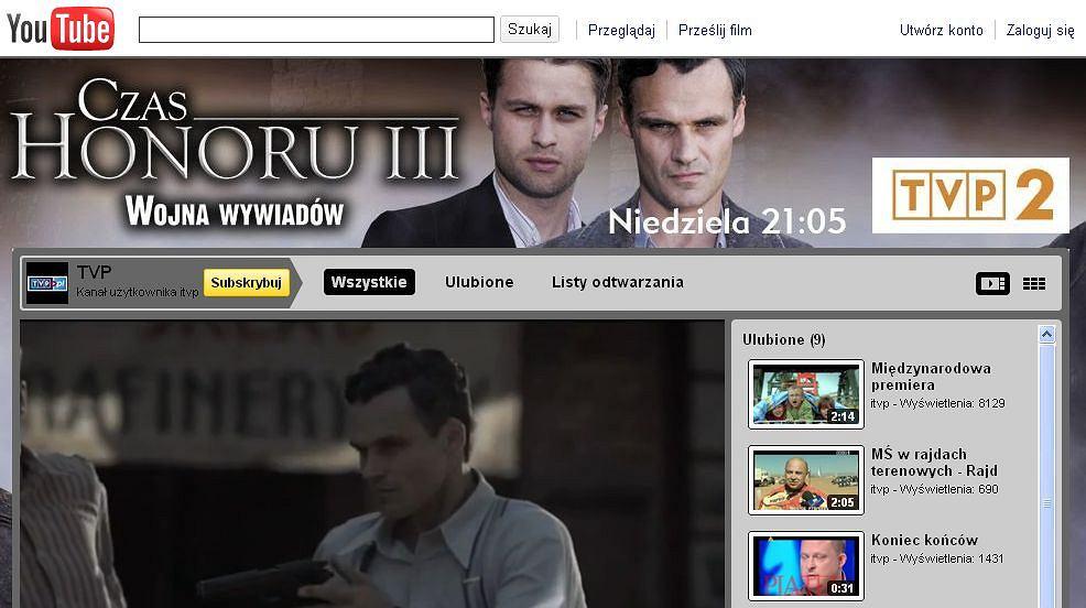 Oficjalny kanał TVP na YouTube