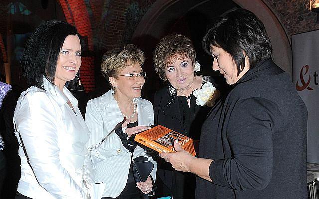 Anna Komorowska pojawiła się na imprezie promującej książkę