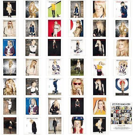 40 okładek Zeit Magazine - Claudia Schiffer