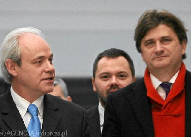 Adam Szejnfeld i Janusz Palikot