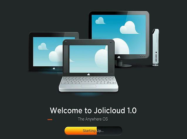 Jolicloud - chmurowy system operacyjny na netbooki
