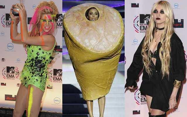 Rozdanie MTV European Music Awards 2010 w Madrycie. Gwiazdy postarały się, by ich obecność nie przeszła niezauważona.