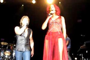 Rihanna i John Bon Jovi