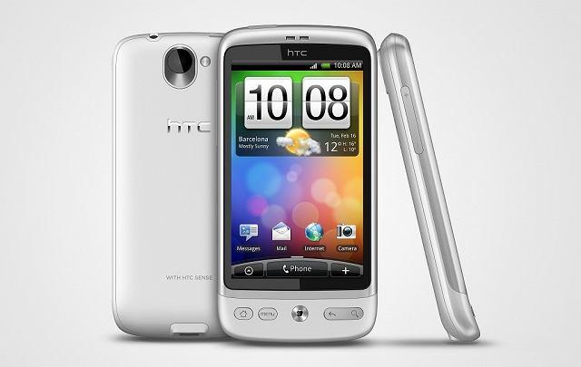 HTC Desire White