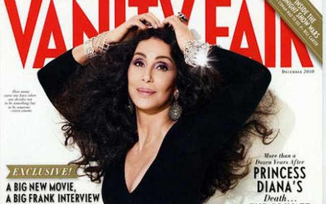 Cher na okładce