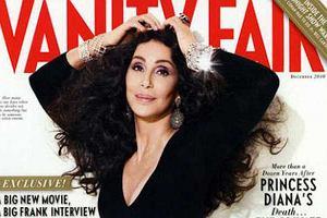 Cher na okładce Vanity Fair