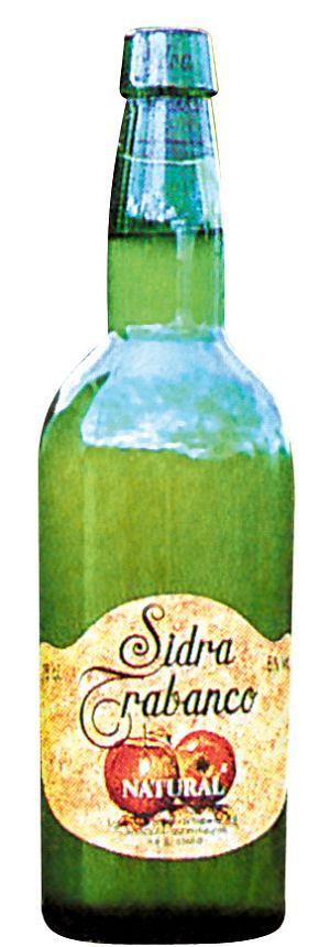 hiszpańskie specjały - jabłkowe wino musujące - sidra