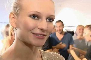 Ania Piszczałka zadebiutowała na mediolańskim Fashion Week. Poszło jej świetnie, czego nie można powiedzieć o konkurencji. Jedna z modelek schodząc z wybiegu na odbywającym się w tym samym dniu pokazie zaliczyła niezłą wpadkę.