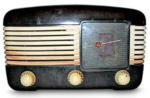 Radio z fabryk Tesla w Czechosłowackiej Republice Socjalistycznej