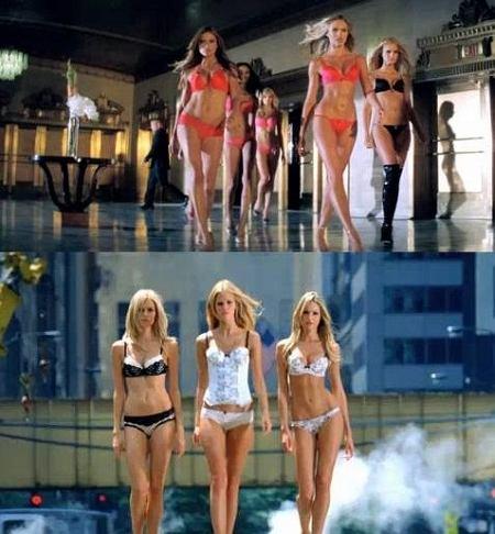 film reklamowy Victoria's Secret - zima 2010/2011