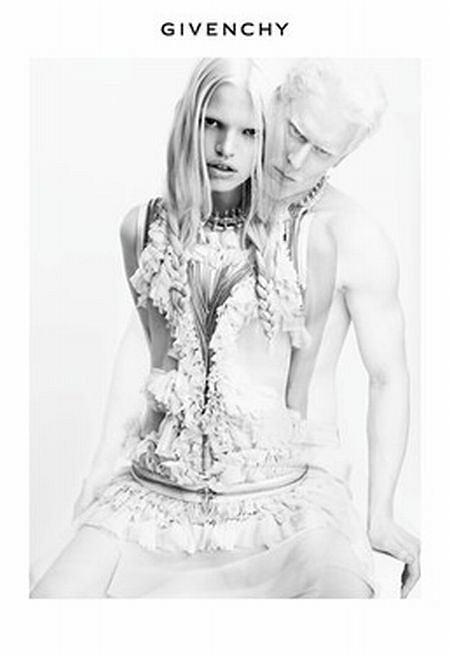 kampania reklamowa Givenchy wiosna/lato 2011