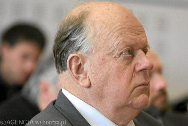 Były prezydent Białorusi Stanisław Szuszkiewicz