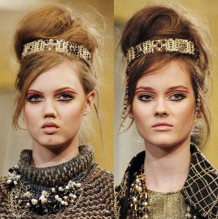Trendy z wybiegów Chanel/trendy na karnawał