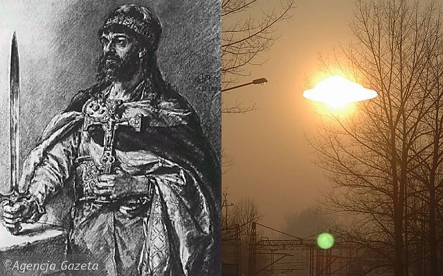 Ciało Mieszka I ukradło UFO z Krakowa?