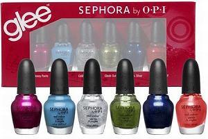 Kolekcja lakierów Glee. Sephora i OPI