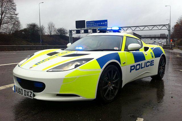 Lotus Evora w służbie brytyjskiej drogówki