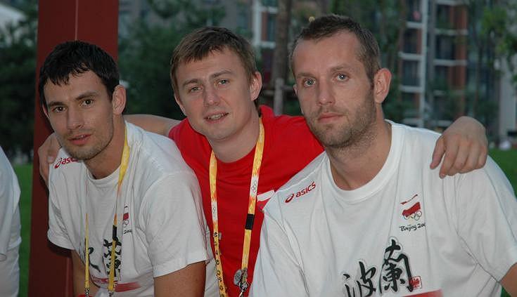 Marcin Lijewski, Krzysztof Ignaczak, Grzegorz Tkaczyk