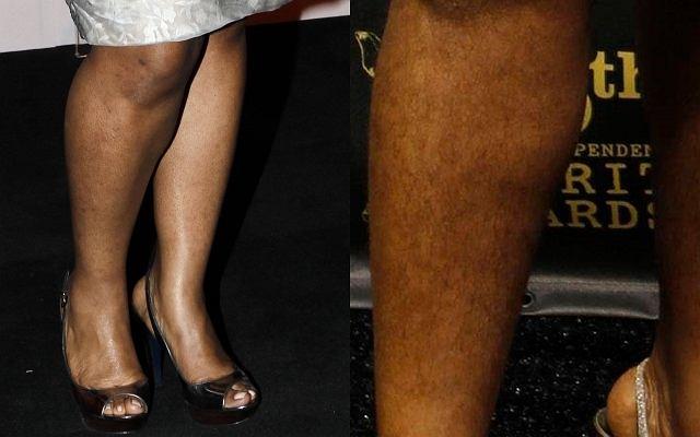 Ubiegłoroczna zdobywczyni Oskara, Mo'Nique na tegoroczną uroczystość ogłoszenia nominacji zdecydowała się ogolić nogi.
