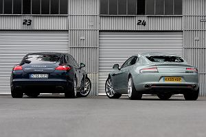 Porsche Panamera Turbo vs. Aston Martin Rapide - test porównawczy