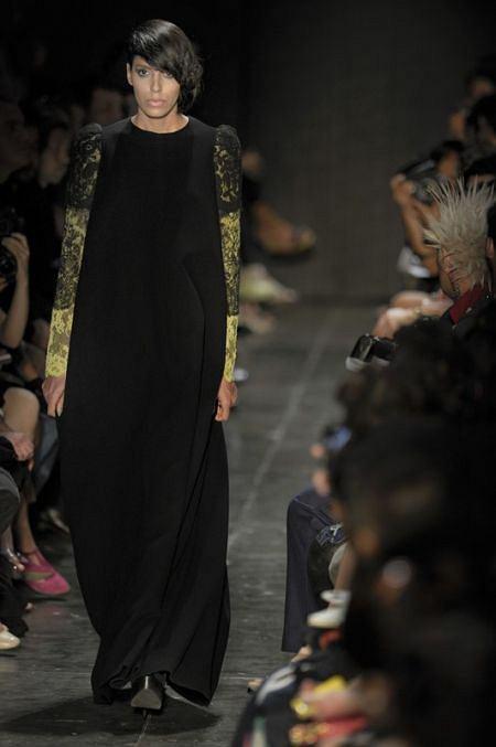 Lea T. na pokazie Alexandre Herchcovitch - Sao Paulo Fashion Week