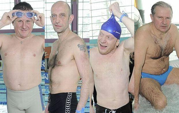 Mistrzostwa Polski Aktorów w pływaniu przyciągnęły wiele gwiazd. Tym razem można było je podziwiać bardzo skąpo ubrane... bo tylko w strojach kąpielowych.