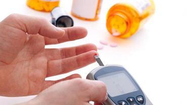 Domowy pomiar glukozy glukometrem