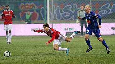 Maor Melikson (w meczu z Ruchem) to najlpeszy obecnie izraelski piłkarz grający w Polsce