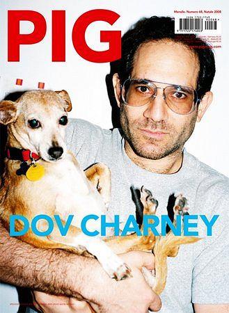 Dov Charney = okładka PIG 2008