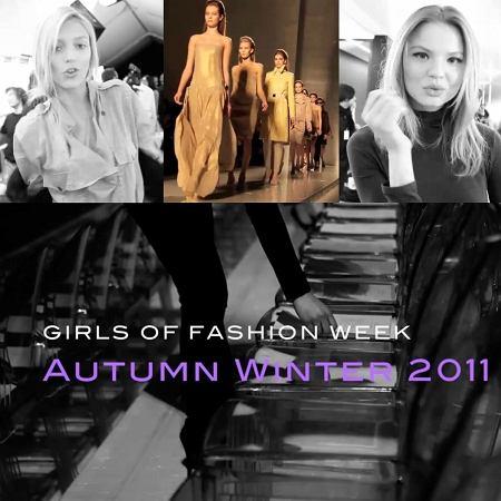 Modelki tygodni mody - wideo!