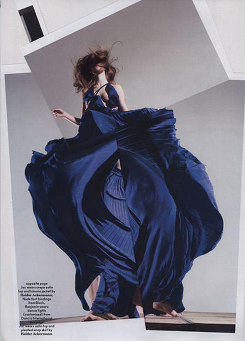 Monika Jagaciak (JAC) w Another Magazine, fot. Nick Knight