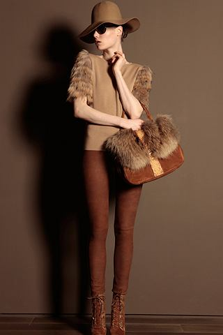 Basia Szkaluba dla Trussardi 1911 - lookbook fall winter 2011