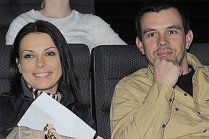 Katarzyna Glinka z mężem.