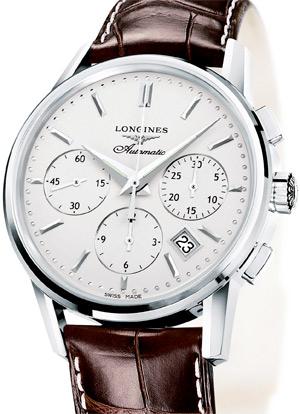zegarki, Longines, Column-Wheel Chronograph