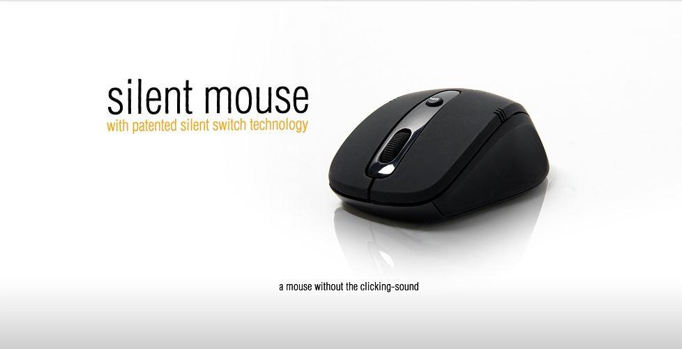 SilentMouse - myszka, która nie klika