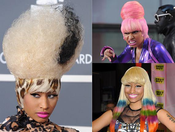 Nicki Minaj - królowa peruk
